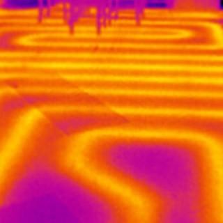 diagnostic chauffage par camera thermique